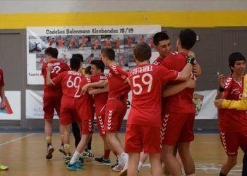 Los cadetes de Balonmano Alcobendas al campeonato de España