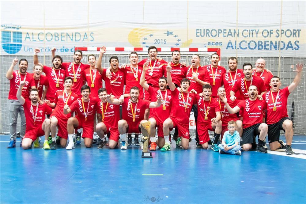 Secin Group BM Alcobendas campeones de la liga DHP 2018