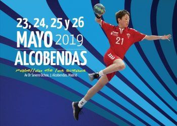 Cartel infantil masculino en Alcobendas 2019