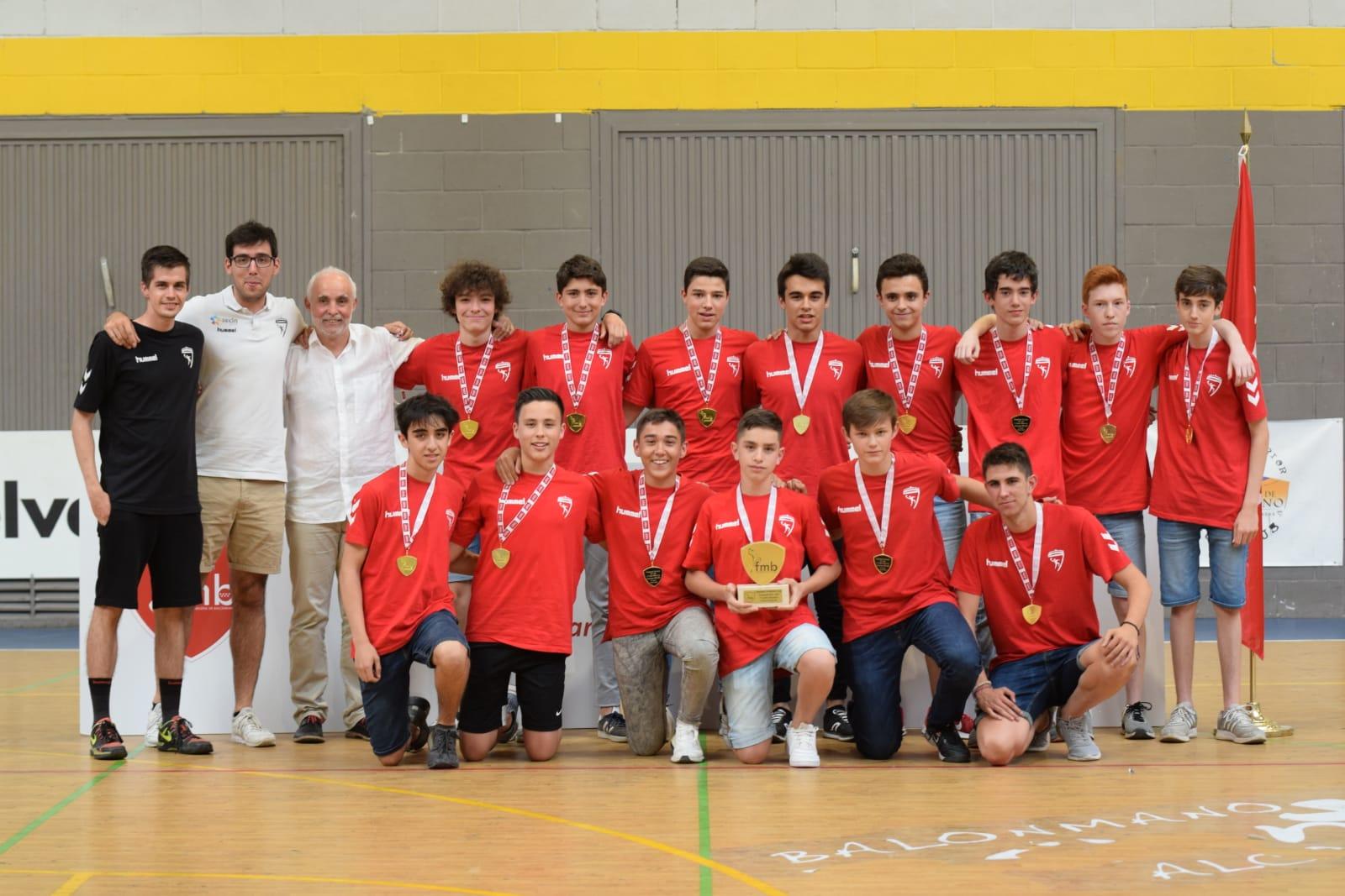 Campeones Alevines de Madrid 2019