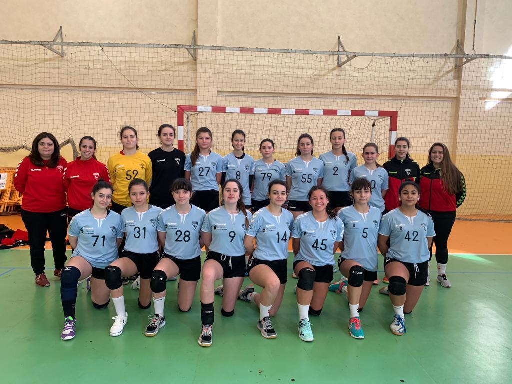 Equipo 2 cadete femenino