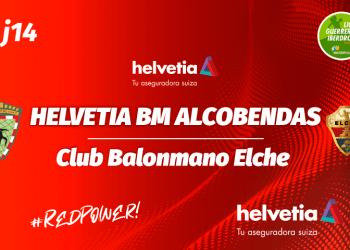 Noticia partido Helvetia BM Alcobendas contra Elche