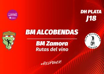 Noticia Partido BM Alcobendas Zamora