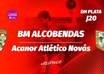 Noticia partido BM Alcobendas contra Acanor Atletico Novas