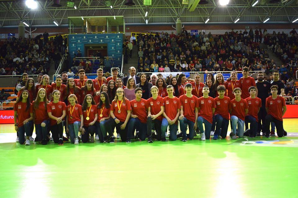 Homenaje seleción de Madrid CESA2020