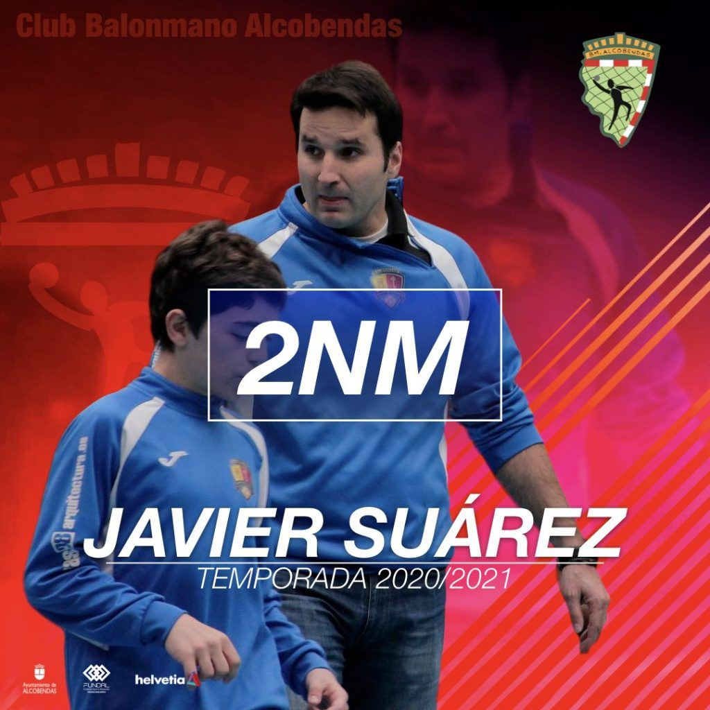 Javier Suárez, entrenador del 2ª Nacional Masculino