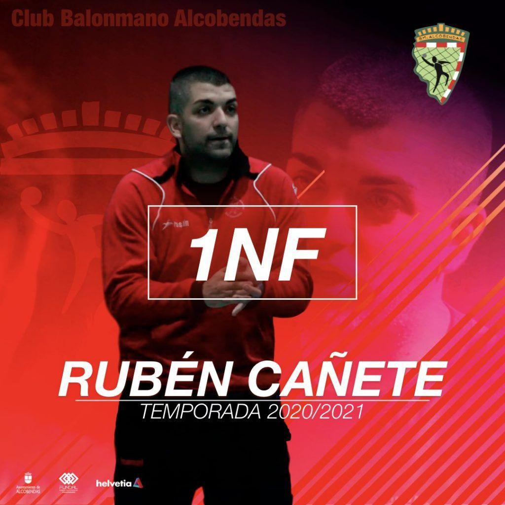 Rubén Cañete, entrenador del 1ª Nacional Femenino.