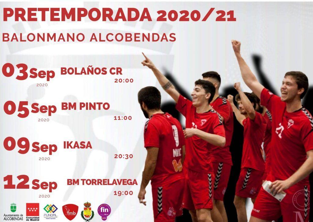 Imagen Pretemporada 2020/2021 del equipo de DHP