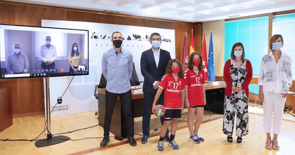 Helvetia patrocina la academia Alcobendas