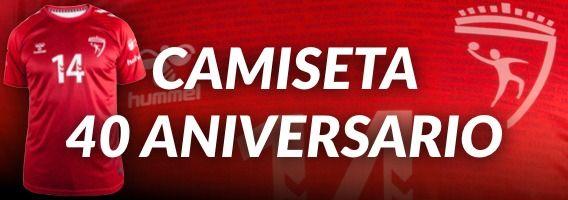 Ir a la tienda Hummel para la Camiseta del 40 Aniversario