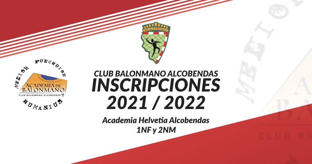 inscripciones 2021 2022